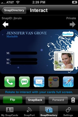 Top 5 best iPhone Business Card Apps Free For Download