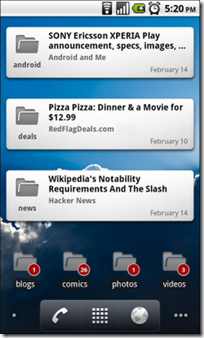 Google-Reader-App-widgets