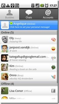 eBuddy Messenger App