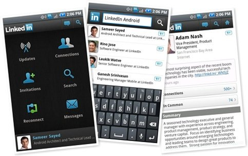 LinkedIn Mobile App for Android