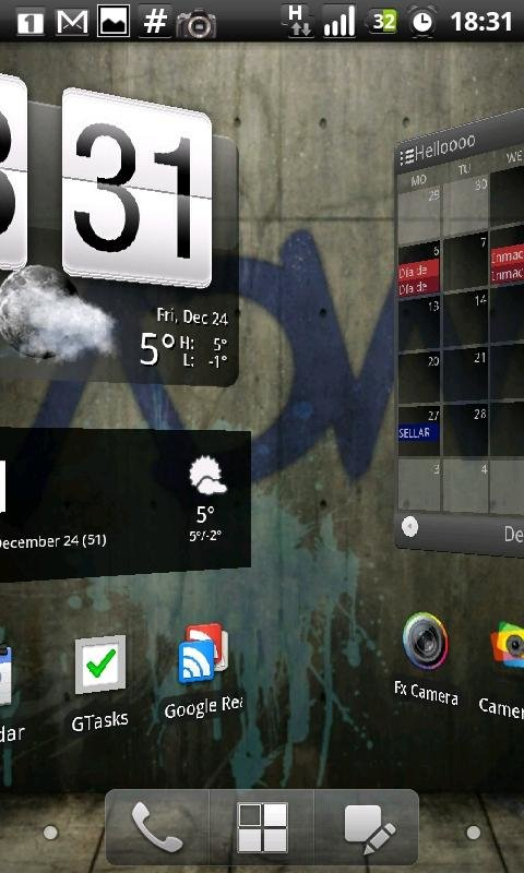 Checkout the screenshots of ADW Launcher EX app.