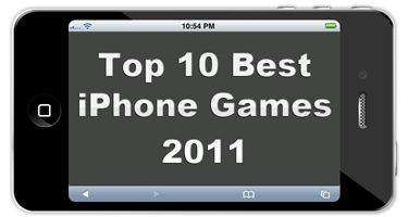 top 10 iphone game apps