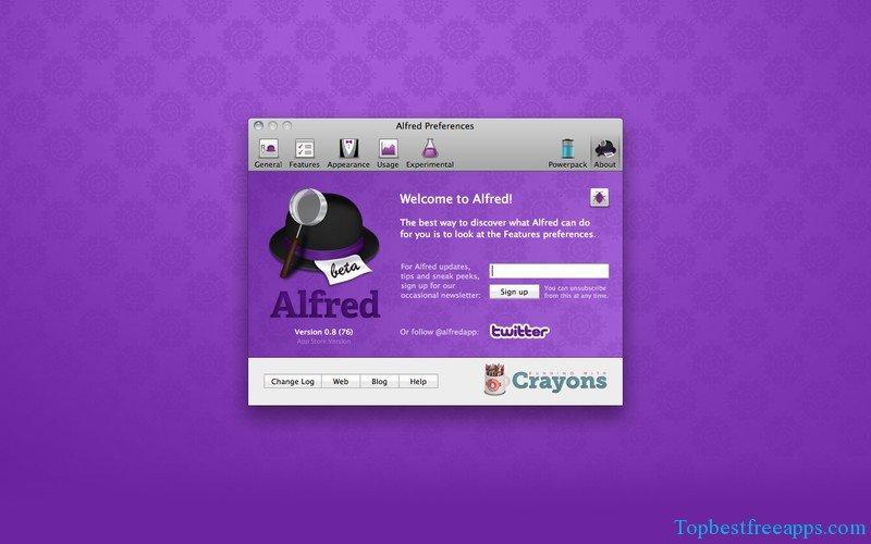 alfred free mac app
