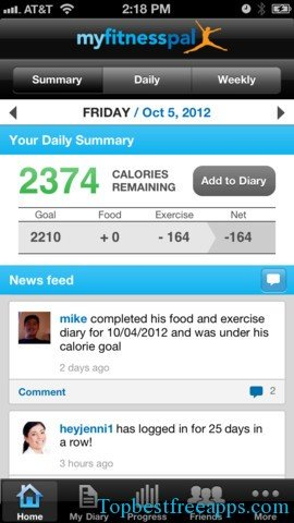 calorie counter diet tracker iphone app