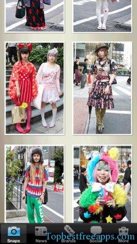 tokyo-fashion iphone app
