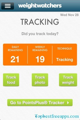 weight-watchers-mobile iphone app