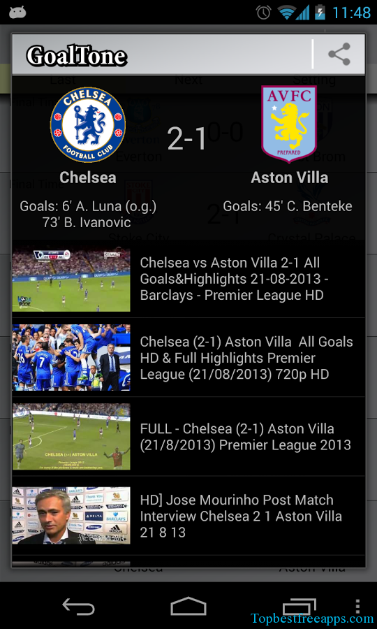 livescores all