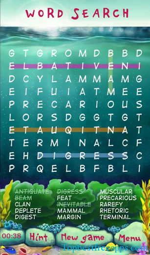 word search education app