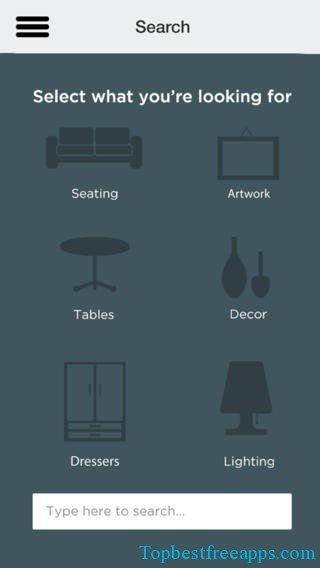iPhone Interior Designing App