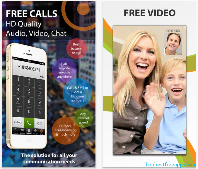 voice and video call iphone app