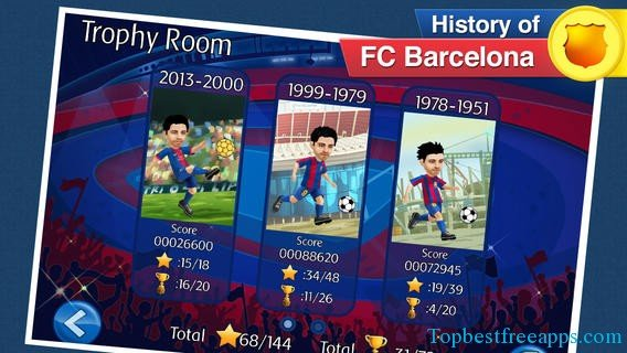 fcb iphone fotbal game