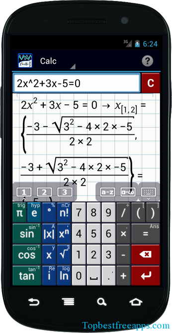 Graphing Calculator App