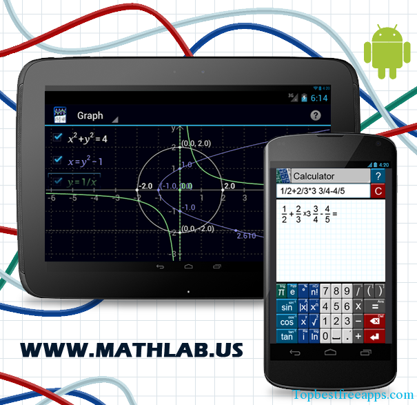 Graphing Calculator android App