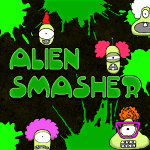 Alien Invasion Smasher Hit an action game for Adventure