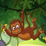 Primate U: Banana Blitz Catch- a drop and catch style game