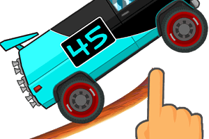 Road Draw: Climb Your Own Hills an endless car racing game
